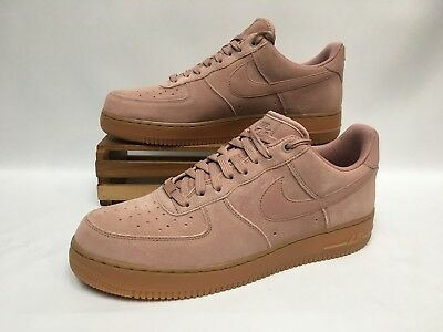 Nike Air Force 1  07 LV8 Suede Particle Pink Gum AA1117-600 Men s Size 3ba528648