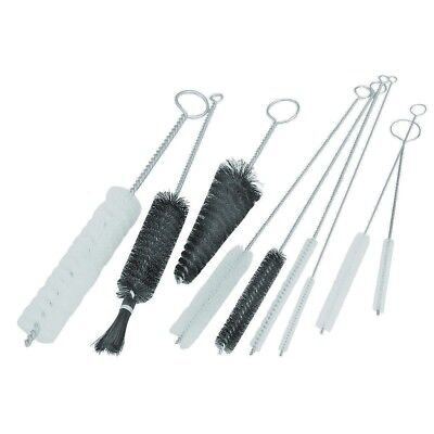9 Piece Tube/Pipe Nylon Brush Set to clean almost any sized pipe