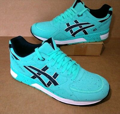 ASICS GEL-LYTE SPEED Mens Size 11.5 Mint Green Cockatoo Black Sneakers Shoes