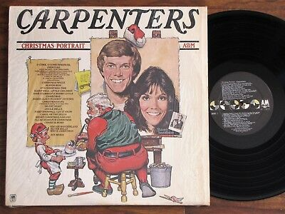 THE CARPENTERS *Christmas Portrait* 1985 Near Mint Vinyl Stereo A&M In Shrink LP