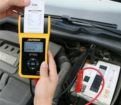 Autool BT660 Car Cranking Lead Acid Battery Tester Conductance 12V Battery