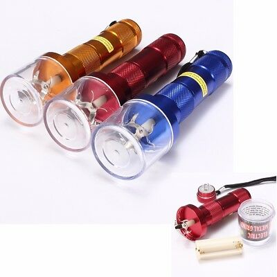 Aluminum Metal Electric Grinder Crusher Herb Spice Herbal Tobacco Smoke Muller