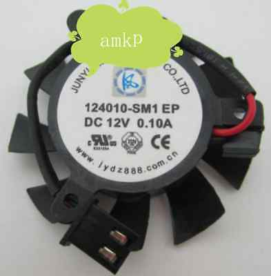 For EVGA GT610 620 Graphics card cooling fan 2Pin 124010-SM1 EP 37mm 12v 0.1a
