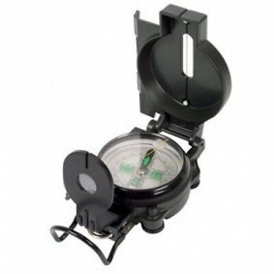 Black Metal Bodied - Military Compass. HQ. Shipping Included