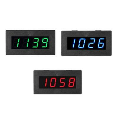 4 Digital LED Frequency Tachometer RPM RPM Speed Measure Gauge Meter 5-9999