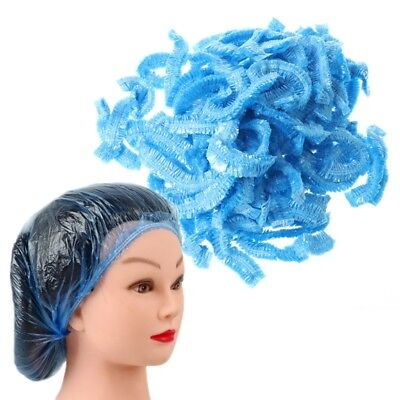 100 Pcs Disposable One-off Hotel Home Salon Shower Bathing Flower Hair Cap Hat