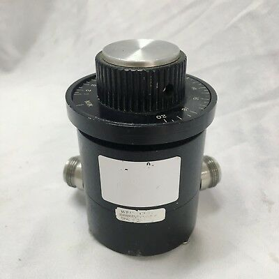 WEINSCHEL_910-20-30: Continuously Variable Attenuator
