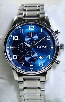 a340d27eb411c8 🚨🛑Men s Watch Hugo Boss HB1513183   WITH STAMPED AND DATED WARRANTY BOOK  🛑🚨