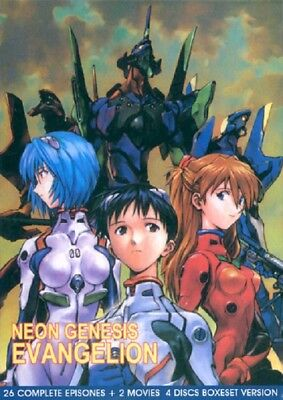 Neon Genesis Evangelion TV + 2 Movies Ship from USA