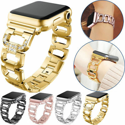 38/42mm Stainless Steel Band iWatch Strap Bracelet for Apple Watch Series 3 2 1