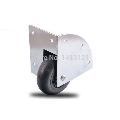 free shipping wheel mute caster wooden box wheel rod box built-in industrial whe