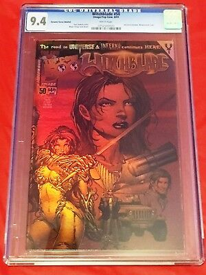 WITCHBLADE 50 CGC 9.4 Dynamic Forces Chrome COA Paul Jenkins Brian Ching 2001