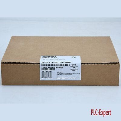 New In Box Siemens 6ES7417-4HT14-0AB0 6ES74174HT140AB0 6ES7 417-4HT14-0AB0
