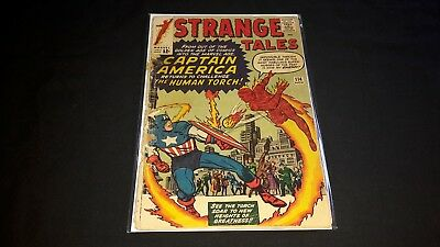 Strange Tales #114 - Marvel Comics - November 1963 - 1st Print