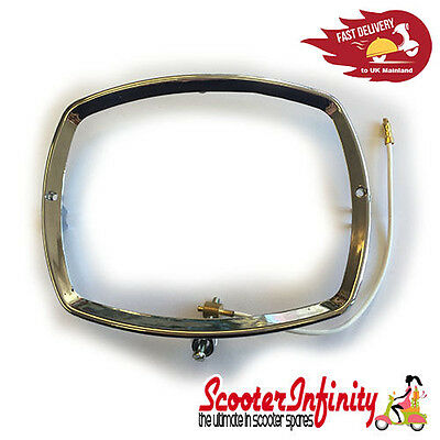 Lambretta Headlight Rim CHROME (GP 125 150 200 / DL)