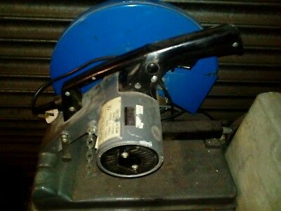 355mm Abrasive Chop Saw with Blade 2000 Watt, 240V good Condition. To be updated