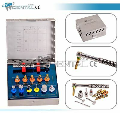 Dental Bone Expander Kit Sinus Lift With Saw Disks Dental Implant Instruments CE