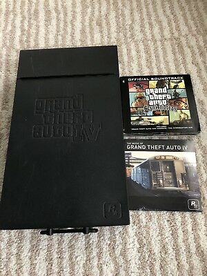 Grand Theft Auto IV Special Edition Metal Box Soundtrack & SanAndreas Soundtrack