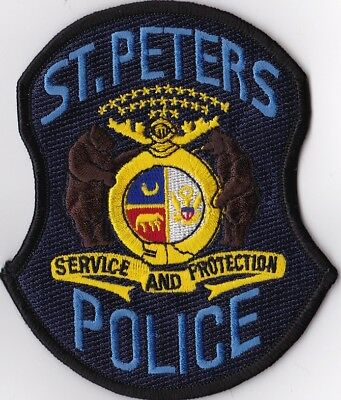 St. Peters Police Patch Missouri MO