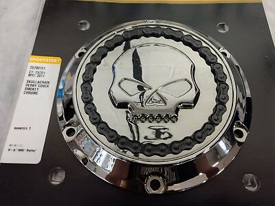 Harley-Davidson Skull & Chain Derby Cover For Sportsters - 25700131