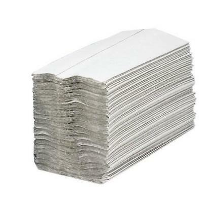 Maxima Hand Towels C-Fold Recycled 2-Ply White Ref 1104061 [24 Sleeves]
