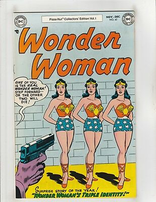 Wonder Woman #62 Pizza Hut Collectors Edition VF/NM 9.0 DC Comics 1977 Bronze