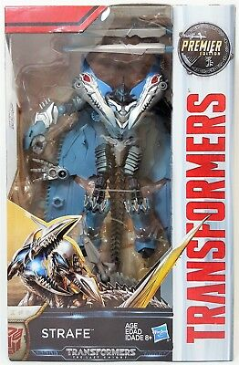 Transformers Strafe Deluxe Class The Last Knight Premier Edition Action Figure