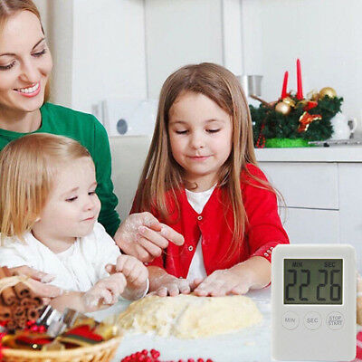 Portable Kitchen Digital LCD Timer Reminder Count-down Clock Cooking Alarm Hot