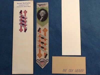 George Washington Commerative Centennial Book Mark