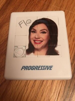 Progressive Flo Picture Puzzle - NEW - Hard Plastic - Collectible Novelty