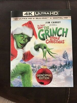 Dr. Seuss' How the Grinch Stole Christmas [4K Ultra HD] BUY 3 GET 1 FREE