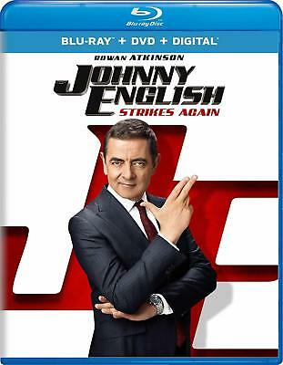 Johnny English Strikes Again (Blu-ray)(Region Free)(DTS:X)