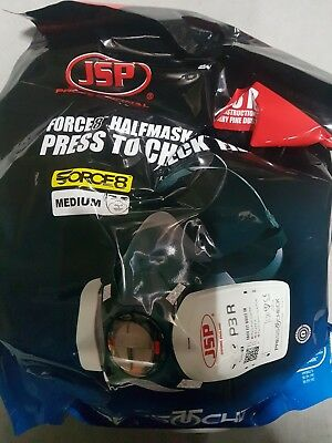 JSP Force 8 Press To Check Half Mask Carry Storage Bag Pouch