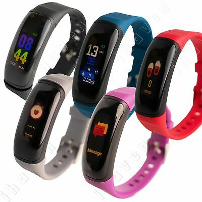 Adults/Kids Health Fitness Activity Tracker Smart Watch Pedometer iOS Android