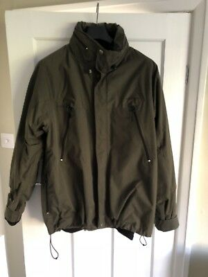Carhartt 3 in 1 Coat Khaki Green XL Waterproof Jacket Warm Fleece Winter