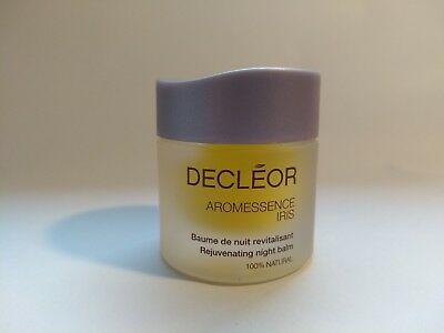 Decleor Aromessence Iris Rejuvenating night Balm 100%natural 15 ml for woman