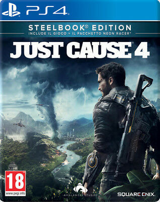 Ps4 Just Cause 4 - Steelbook Edition  Multilingue