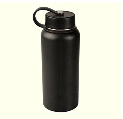 (950ml, Black) - Tahoe Trails 950ml Double Wall Vacuum Insulated Stainless