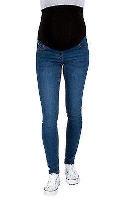 Ex Chainstore Maternity Over Bump Jeggings, Stretchy Skinny Jeans Sizes 8 - 24