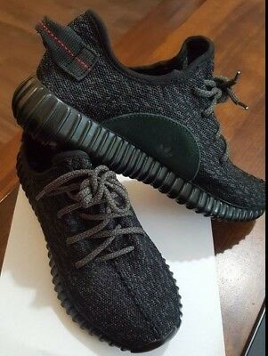 7079ee3b1045d 2015 Adidas Yeezy Boost 350 Pirate Black AQ2659 Yeezy Supply Kanye size  7.5us