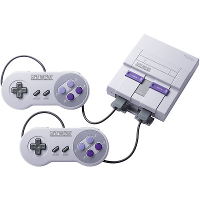 Super NES Classic Edition - FACTORY REFURBISHED BY NINTENDO - Warranty Included