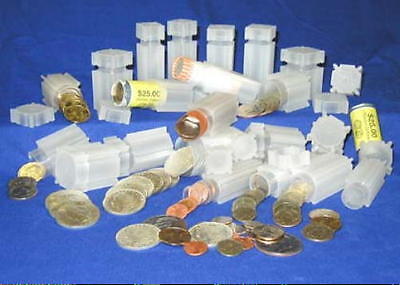 CoinSafe Square Coin Tubes for Liberty - Buffalo & Jefferson Nickel <> PVC-FREE