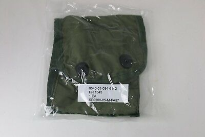 New Surplus USGI Empty First Aid Pouch with 2 Alice Clips Free Shipping