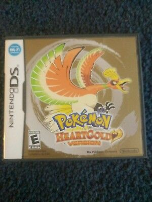 Pokemon HeartGold - Replacement Nintendo DS Case - No Game Included