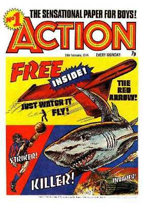 Action Comic Uk Complete Dvd Rom -  All 87 Issues + Annuals And Special
