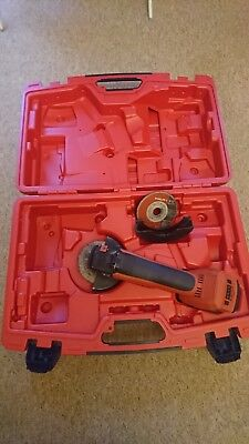 HILTI AG125-A22 angle grinder CARRY CASE ONLY!!! good used condition