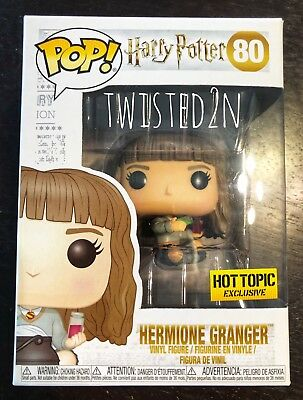 Funko Pop Harry Potter #80 Hermione Granger Seated w Cauldron Hot Topic Excl