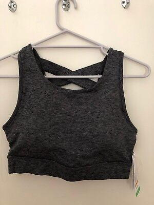 Gaiam Sports Bra Grey Size Medium BNWT