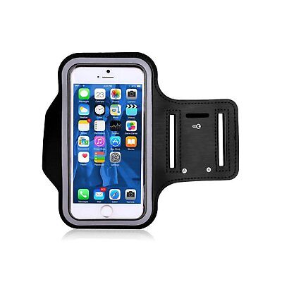 TRIBE Water Resistant Cell Phone Armband Case for iPhone 8, 7, 6, Samsung, 5.2""