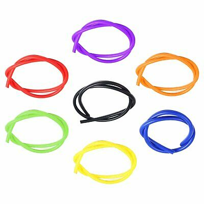 3-16Mm Id Silicone Air Vacuum Hose/line/pipe/tube Bk Bu Rd Pl Or Gr Ye Color